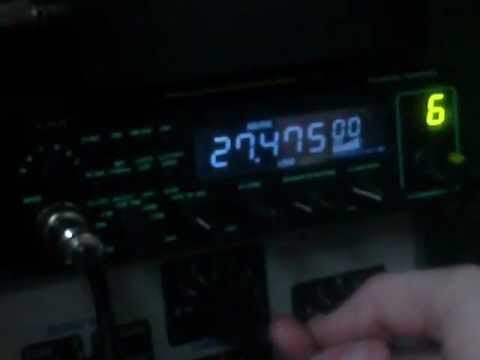 27.475 MHz - 11 meter opening 6 July 2012