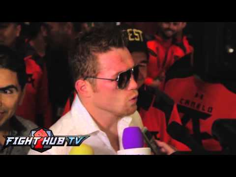 Canelo Alvarez You win fights throwing punches not on your bike Spanish audio