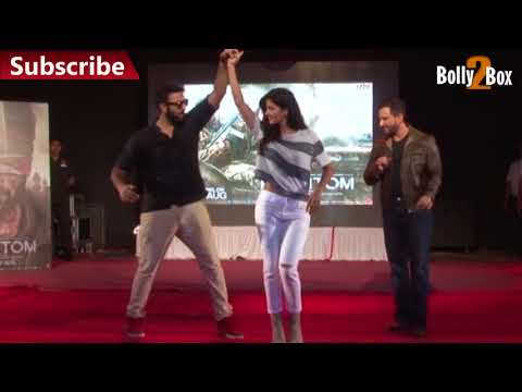 Katrina Kaif Dances With VJ At Phantom Promotion | Bolly2Box