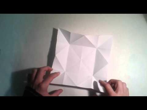 Origami para principiantes: #6 Como hacer una pajarita de papel