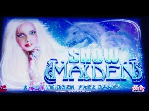 *NEW SLOT* - Snow Maiden - *NICE WIN* - Slot Machine Bonus