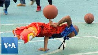 US Street Basketball Team Performs in Venezuela