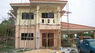 Building a House in Thailand - Start to finish