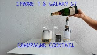 iPhone 7 Galaxy S7 Champagne Cocktail