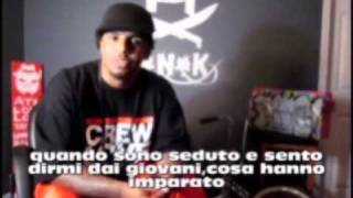Hip Hop & B-Boying: B-Boy Remind + B-Boy Quic interview (italian subtitles)