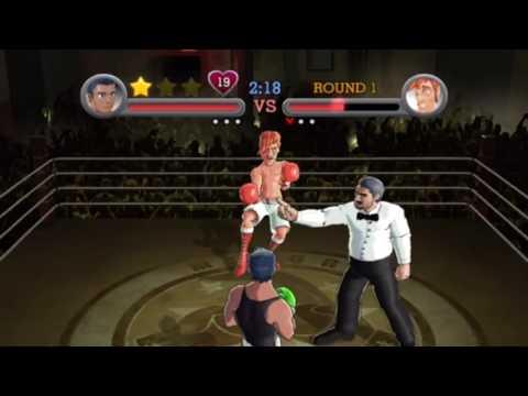 Punch Out!! Wii - Little Mac vs. Glass Joe