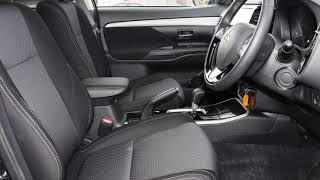 2017 Mitsubishi Outlander ZL MY18.5 LS 2WD Black 6 Speed Constant Variable Wagon