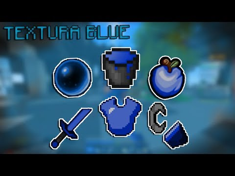 TEXTURA AZUL/BLUE MUITO LINDA E BOA PARA PVP! (SkyWars) ‹ SeveBR ›