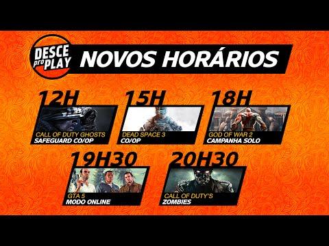 Aviso: Gta Todo Dia, God Of War Novo Horário E + video