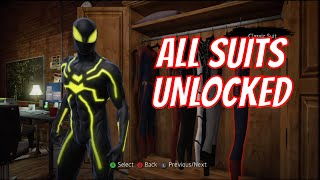 The Amazing Spider-Man - How & Where to Unlock Extra Suits (Scarlet Spider, Future Foundation, etc)