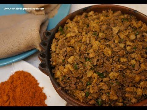 Ethiopian Food Injera Recipe Ethiopian Food Dulet Recipe