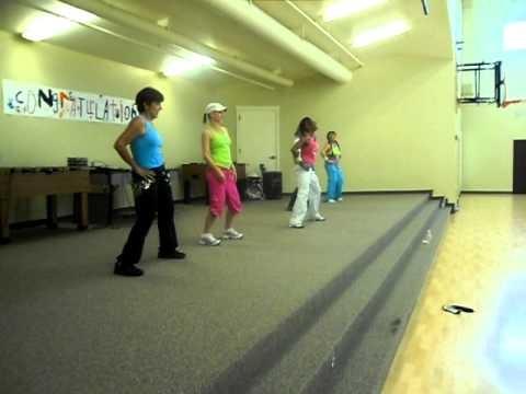 Las Avispas (Merengue) - Dance fitness with Tracy Davis