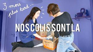 NOS COLIS DE SEOUL SONT ENFIN LÀ