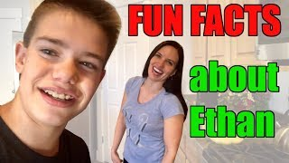Fun Facts about Ethan Fineshriber! - Vlog #5