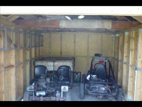 Projekty garaży do 35m2