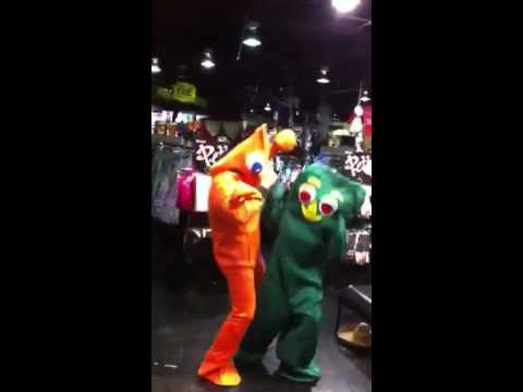 Gumby And Pokey Costume Gumby And Pokey
