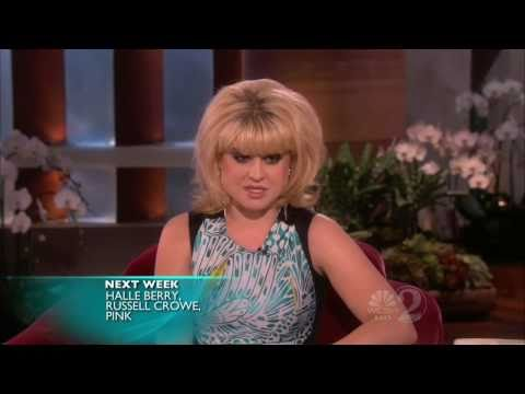 Kelly Osbourne on Ellen (11/12/10) - HD