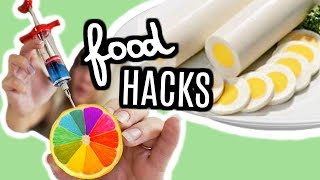 JE TESTE DES FOOD HACKS