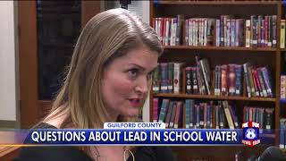 Questions about lead in school water