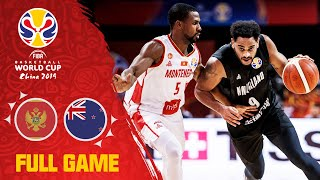Montenegro fight tooth & nail against New Zealand - Full Game - FIBA Basketball World Cup 2019