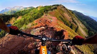 I wasn't ready for Red Death   Mountain Biking the Wasatch Crest near Salt Lake City Utah