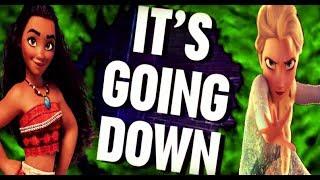 It's Going Down! ~ (Team Elsa vs. Team Moana)