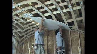 How to Drywall a Groin Vault Ceiling with Archways & Ceilings Made Easy