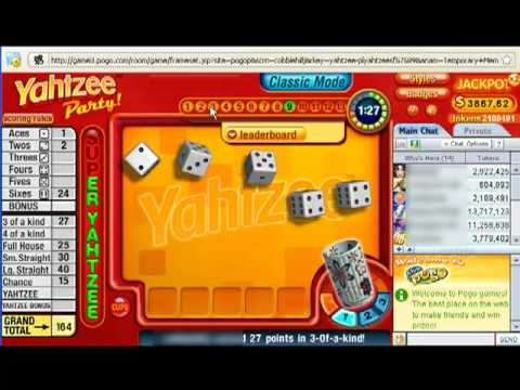 Yahtzee Party Sample Gameplay