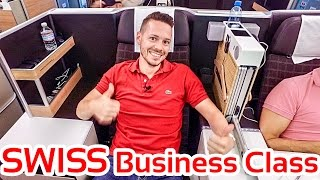 Die neue SWISS Business Class B777-300ER | GlobalTraveler.TV