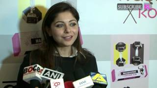 Kanika Kapoor at fashion designer Masaba Gupta's X KOOVS launch party