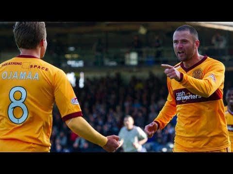 Motherwell came from behind to remain top of the Scottish Premier League following a 2-1 victory over Dundee at Dens Park. Colin Nish (20') had given the home side a first-half lead with a...