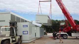 Lectrus Assembles 4-Piece Equipment Center with Horizontal Split