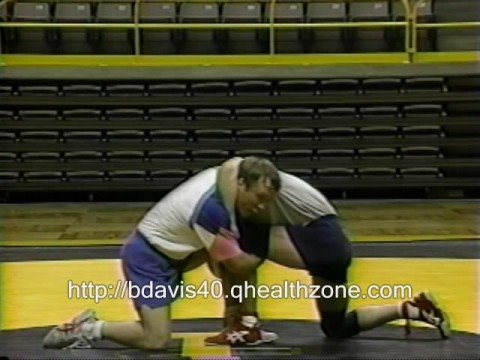 Barry Davis Wrestling Double Cradle Drill Image 1