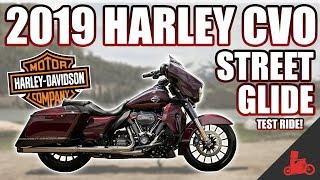 2019 Harley-Davidson CVO Street Glide 117 TEST RIDE!