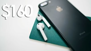 $160 for Apple AirPods??? FULL REVIEW
