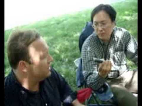 """The Epoch Times"" interviews Alex Jones Bilderberg 2008 pt2"