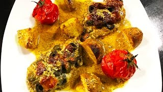Ashpazi - Dashi Chicken   آشپزی – گوشت مرغ داشی