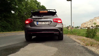 Mercedes GLA 45 AMG Race Start