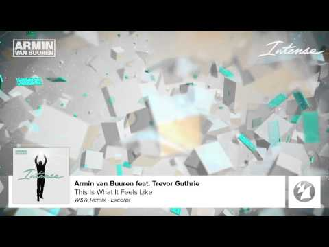 armin van buuren feat. trevor guthrie - this is what it feels like audio