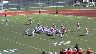 LJFL Broncos vs Bears 9/28/13 (1st Half part 1)