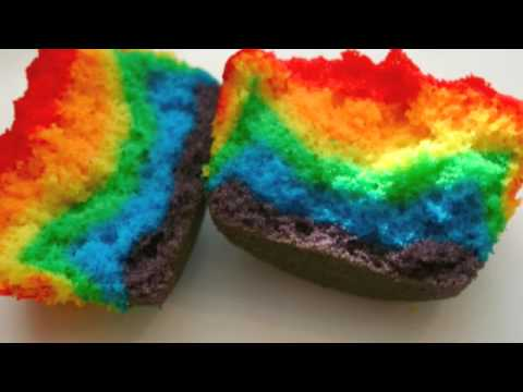How to Make Rainbow Cupcakes!