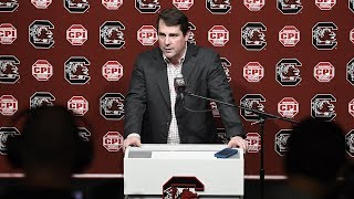 Will Muschamp Spring Practice News Conference — 2/25/20