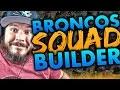ALL-TIME DENVER BRONCOS SQUAD BUILDERS & GAMEPLAY | MADDEN 16 ULTIMATE TEAM