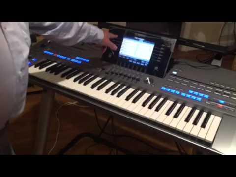 yamaha 2000 синтезатор видео белые розы