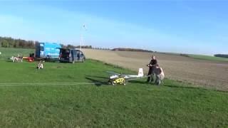 RC letadlo Blanik - Start z podvozku