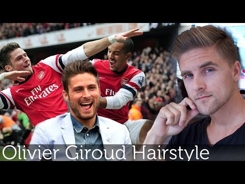 Olivier Giroud Hairstyle | Arsenal FC Premier League player | Dynamite clay By Vilain