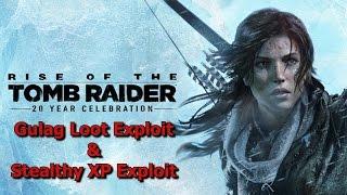 Rise of the Tomb Raider - Infinite Loot & XP Glitch