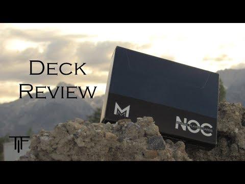 Murphys Signature NOC Playing Cards - Deck Review