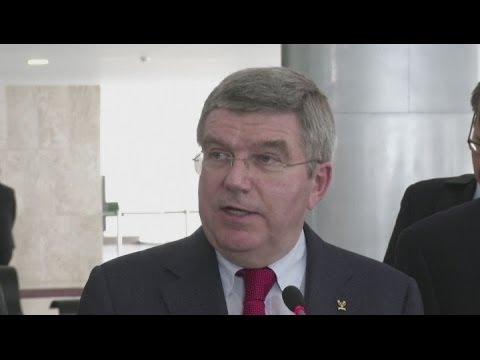 IOC president Thomas Bach makes first visit to 2016 hosts Brazil