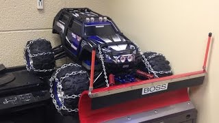 RC Snow Plow Traxxas Summit 4x4